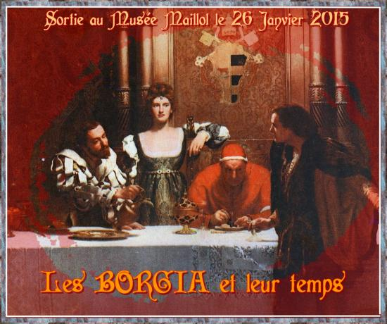 A glass of wine with caesar borgia john collier